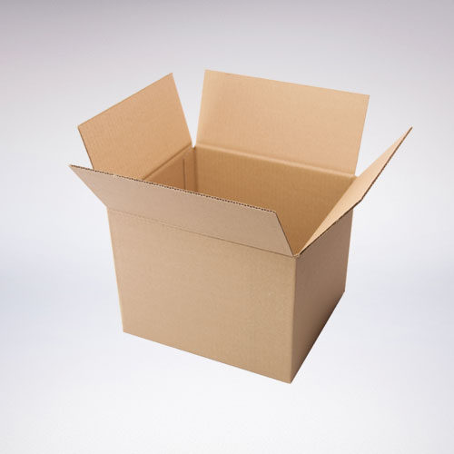 Klopová krabice otevřená