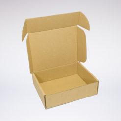 Skládaná krabice otevřená