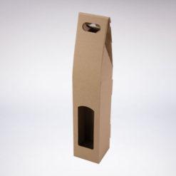 Krabice na víno hnědá